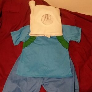 Cartoon Adventure Time Fin Costume